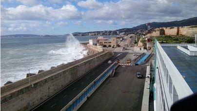Mallorca en alerta amarilla por tormentas y vientos de fuerza 7