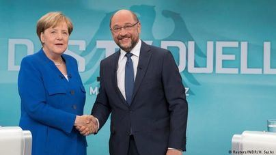 Merkel y Schulz pactan revalidar la Gran Coalición para gobernar Alemania