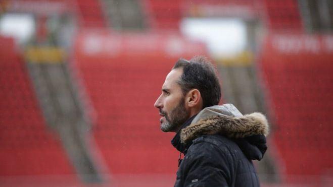 Vicente Moreno: 'La Peña está en un buen momento, pero queremos ganar'