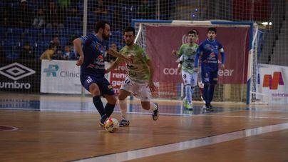 El Palma Futsal solo puede empatar contra el Peñíscola