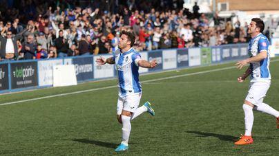 El Atlético Baleares consigue su primera victoria de la temporada en Son Malferit