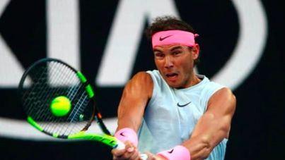Rafael Nadal elimina a Víctor Estrella Burgos sin pestañear