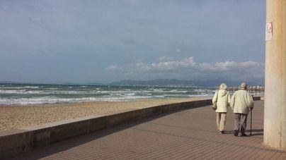 El viento será el protagonista de este miércoles en Mallorca