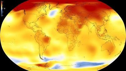 2015, 2016 y 2017: los tres años más cálidos desde que hay registros