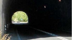 Imagen del túnel de Peguera (Ma-1)