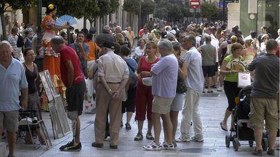 Imagen de un día cualquiera en el centro de Palma
