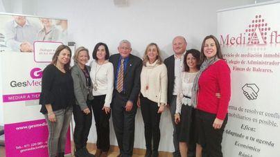 El Colegio de Administradores de Fincas de Balears activa el servicio de mediación inmobiliaria