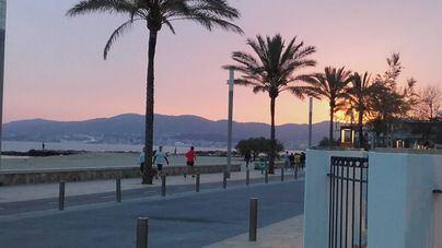 Palma registró este domingo su mínima más alta en enero: 16,1 grados
