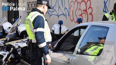 Buscan a un conductor fugado que ha arrollado a un motorista en Es Vivero