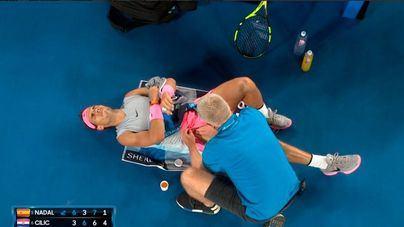 Nadal sufre una lesión de 'grado uno' y estará tres semanas sin competir