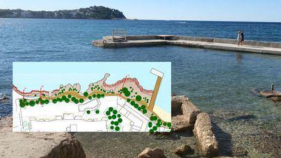Santa Ponça tendrá nuevo paseo peatonal en la playa