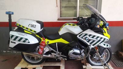 La Guardia Civil de Baleares recibe sus nuevas motos con radar y la última tecnología