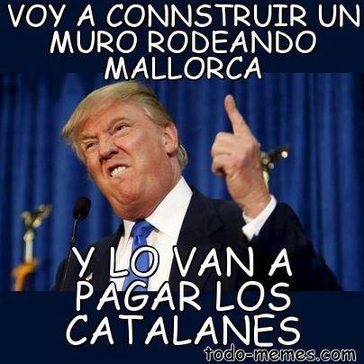 ¡Y lo va a construir Puigdemont!