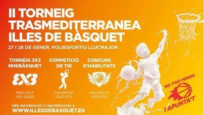 Trasmediterranea, patrocinador oficial del II Torneo Illes de Básquet de Balears