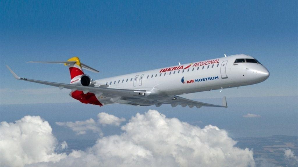 Air Nostrum, aviones interislas