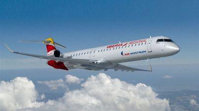 Un rayo impacta sin consecuencias en un avión que cubría la ruta entre Ibiza y Mallorca