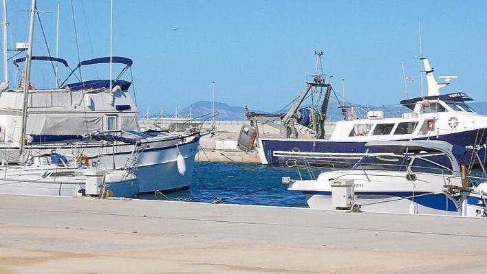 Cerrado el Port de la Savina por el fuerte viento