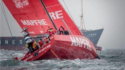 El Mapfre no da opción en la Vuelta a Hong Kong