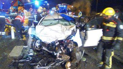 El kamikaze del choque en la autopista de Inca cuadruplicaba la tasa de alcohol