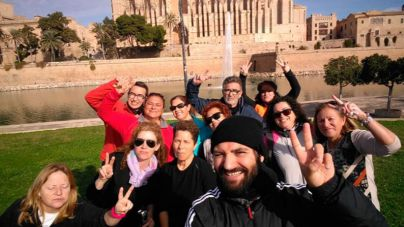 Los Caminantes del Arenal organizan una caminata solidaria hasta la Seu este domingo