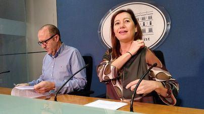 Armengol quiere centrar la acción legislativa en vivienda, residuos y ley de cambio climático