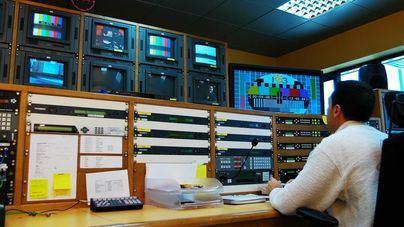 Imagen de archivo del control central de IB3 Televisió
