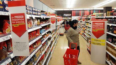Eroski apuesta por una bajada generalizada de sus precios