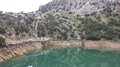 Las lluvias de enero solo hacen subir un punto las reservas hídricas de Mallorca dejándolas al 59 por ciento