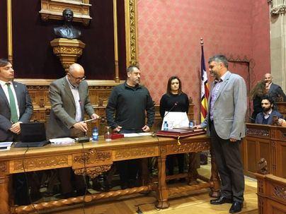 Pere Fuster, nuevo conseller de Més en el Consell de Mallorca