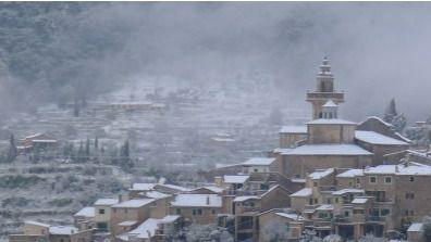 Mallorca, en alerta este sábado por nieve en cotas bajas