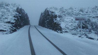 Fin de semana en Mallorca con mucho frío, lluvia y la cota de nieve situada a 300 metros