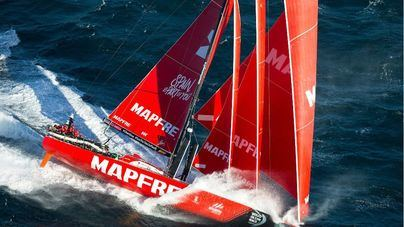 El Mapfre marca el ritmo y ya es el nuevo líder de la flota rumbo a Auckland