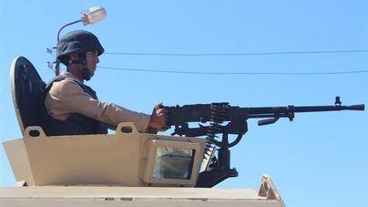 Egipto anuncia la detención de 400 terroristas en el Sinaí