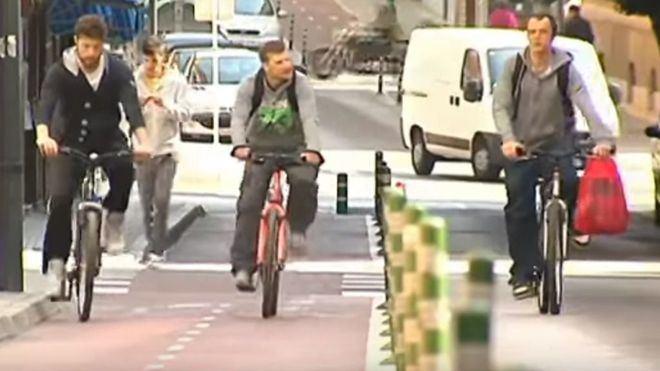 El carril bici de Palma ha ocasionado la pérdida de 500 aparcamientos