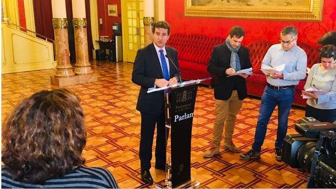 """EL PSIB pide la quita de la deuda de Balears y Company le acusa de hacer """"demagogia barata"""""""