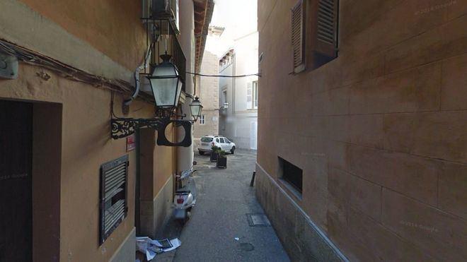 El accidente se ha producido en la calle Ma del Moro