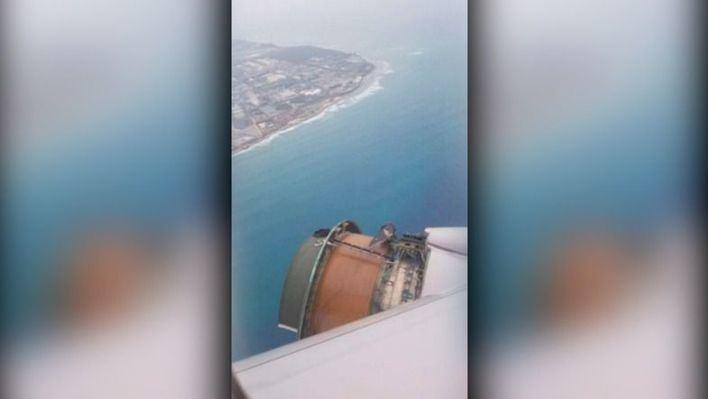 Un avión que cubría San Francisco-Honolulu pierde un motor en pleno vuelo