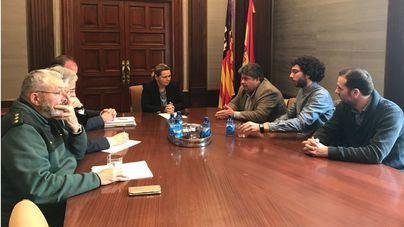Ajuntament de sa Pobla y Delegació de Govern reafirman su colaboración en materia de seguridad