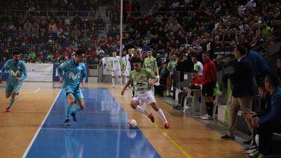 Primera derrota de la temporada en casa del Palma Futsal