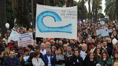 Manifestación de Mos Movem, este domingo en Palma