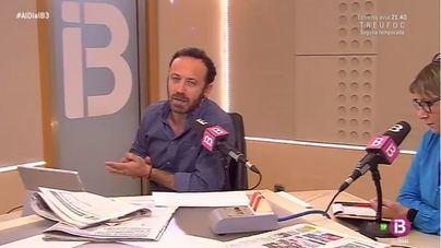 """De Mos Movem, IB3 Ràdio destaca que """"la pancarta tenía faltas de ortografía"""""""