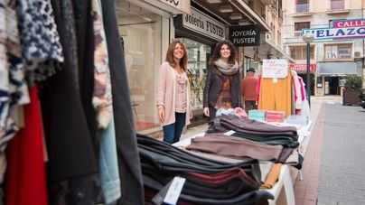 Palma acoge la Feria de stocks de los comerciantes de la calle Velázquez