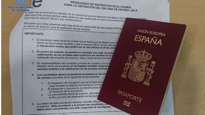 Dos detenidos en Palma por presentarse al examen oficial de español con documentación falsa