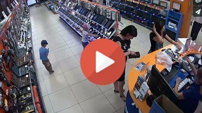 Niños contra alta tecnología: ganan los ladronzuelos