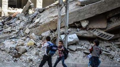 Ghuta, la trampa mortal para miles de niños en la guerra siria