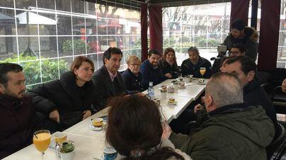 """Company y Durán (PP) inician una ruta por los barrios de Palma para """"poner la política donde debe estar"""""""
