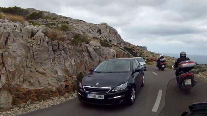 Carretera de acceso a Formentor