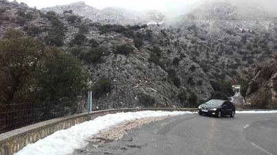 Reabre la carretera MA 10 entre Sa Calobra y Ses Barques