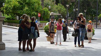 Imagen de archivo: grupo de turistas en Palma