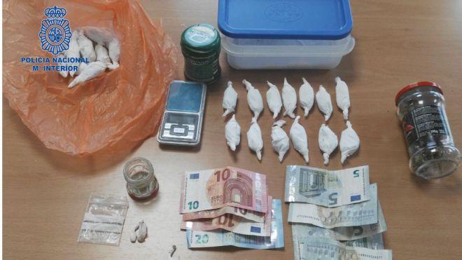 Arrestado un okupa de 20 años en el Molinar por cultivar marihuana y vender cristal